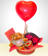 Love and Romance - Special Basket