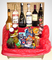 Deluxe Gifts - Ultra Plus Gift Basket