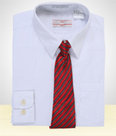 Gifts for Men - White Shirt and Tie