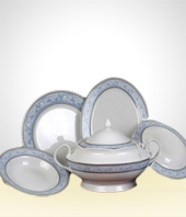 Set of Dishes - Set of Oxford dining room with 42 pieces