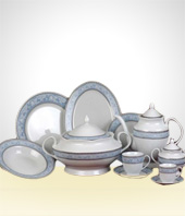 Set of Dishes - Set of Oxford dining room with 70 pieces