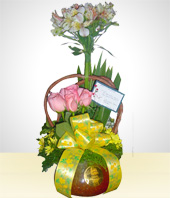 Roses - Deluxe Flower Arrangement