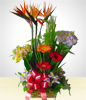 Spring Rustic Flower Arrangement 1