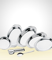 Set of Dishes - Tramontina Salad Trays Set Model II