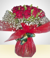 Flowers - Red Bouquet