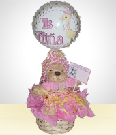 Balloons - Welcome newborn Baby Girl