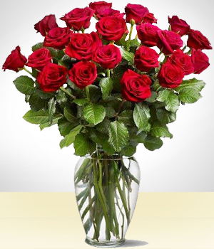 Majestic 24 Red Roses