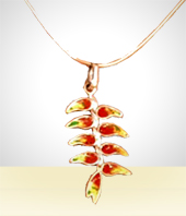 Jewelry - Revolution of Heliconia rostrata