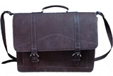 Briefcase - Nobuk leather