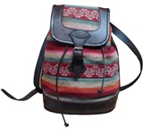 Purse &#34costal&#34 with multicoloured awayo