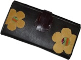 "Leather Wallet ""Juliana"""