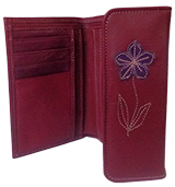 Leather Wallet Esther