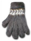 Gray Alpaca Gloves