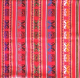 Bolivian Blanket (Frazada) Big - Ayopaya - Red