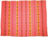 Bolivian Blanket (Frazada) Big- Tupiza - Orange