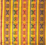 Bolivian Blanket (Frazada) - Tomave - Yellow