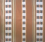 Bolivian Blanket (Frazada) - Colquechaca - Light Brown