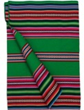 Bolivian Blanket (Frazada) - Macharetí - Green