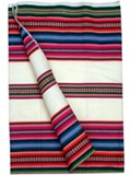 Multicolor Stripes Awayo - White