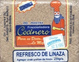 Linseed refreshment drink