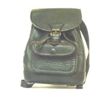Small Black Leather Purse, pack like.