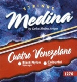 Strings Set for Venezuelan Cuatro - Medina Artigas 1270
