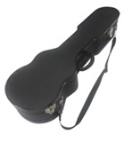 Charango Hard Case - Black Aluminium Borders