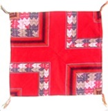 Red Awayo Pillow Case