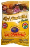 &#34API AMARIILO CON FRUTAS&#34 YELLOW FRUITED MAIZ DRINK