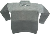 Alpaca Sweater - Shirt style neck