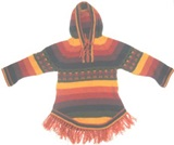 Baby alpaca sweater - multicoloured