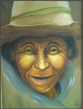Farm Woman -  Artist:  Ramiro Machaca