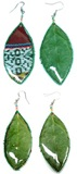 ''Coca Leaf'' - Earrings