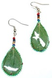 Small  COCA Leaf  - Earrings