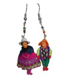 Awayo Earings &#39&#39Andean Couple&#39&#39