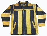 Sheep Wool Jacket (black and yellow)
