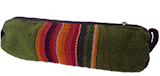Green Rustic Awayo  Pencil Case