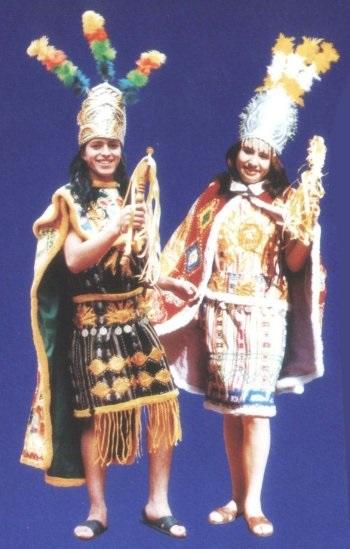Womans Inca Costume