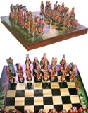 Ceramic Chess Set - Medium size
