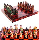 Ceramic Chess Set - Big size