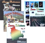 Special Offer: 3 Surcos Bolivianos CD's + DVD