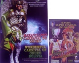 �New! Book Wonderful Carnival of Oruro + DVD Banda Central de Oruro