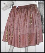 Brown Cholita Skirt