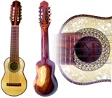 "G. Cerrudo"" Professional Charango - Tago wood with Nacar"