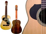 Semi-Professional Requinto - Jacaranda wood
