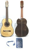 Professional Electroacoustic Nogal Wood Requinto - ARTEC FSE4