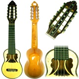 Professional Charango Butterfly Mouth- Naranjillo