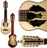 "Orosco"" Professional Charango in Kina Kina wood"