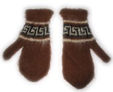 Brown Alpaca Gloves