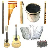 12 Instruments Set for Folkloric Musical Group